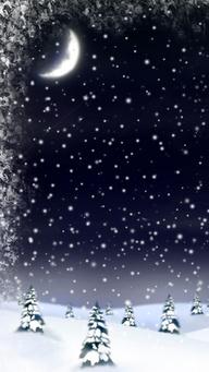 『流年』温馨春雪夜落无声(散文)